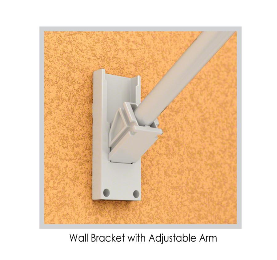 Wall Bracket with Adjustable Arm