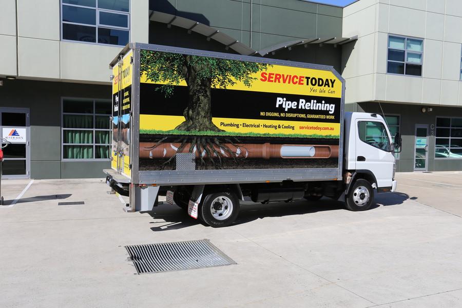 Sydney Truck Signage