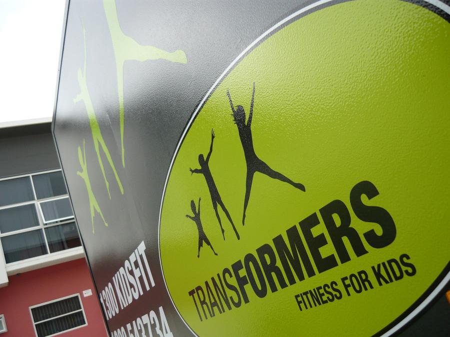 Transformer Logo Contour Cut