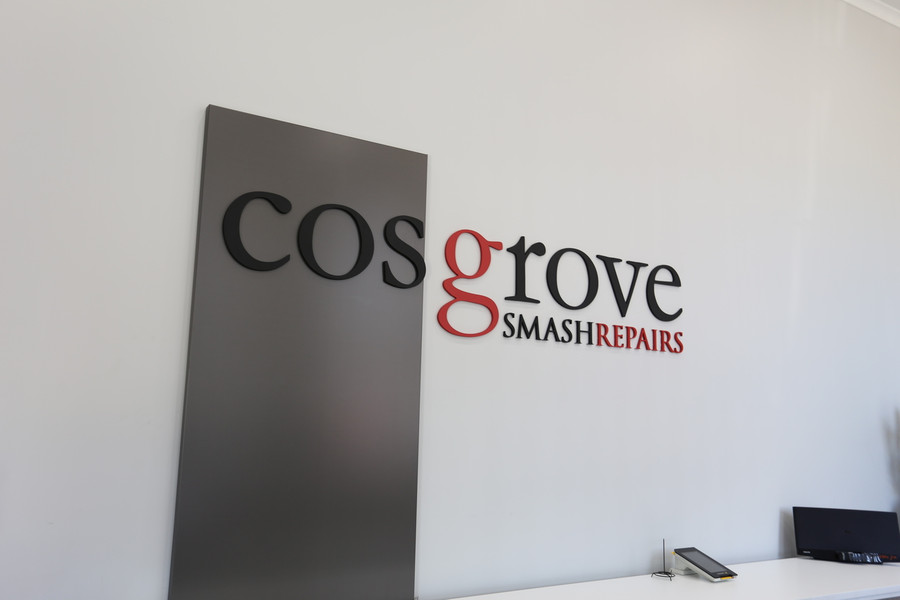 3D Acrylic with Aluminum Composite Panel Reception Sign