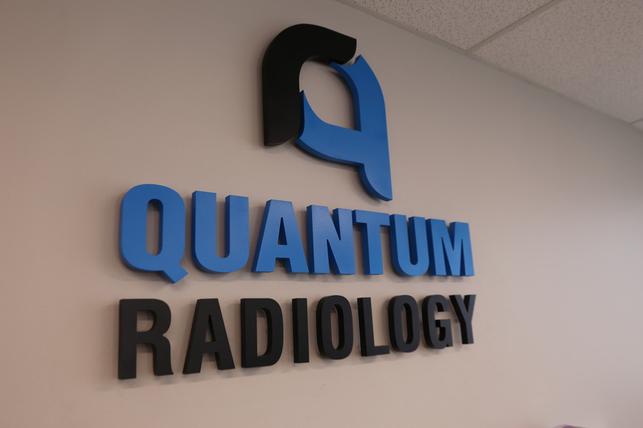 Quantum Radiology Reception Sign
