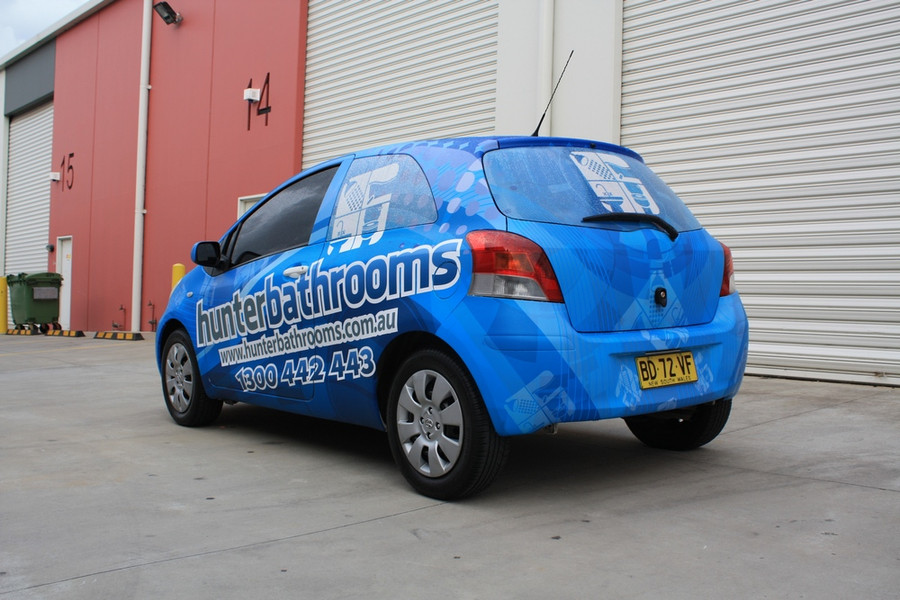 Hunter Bathrooms Yaris Wrap