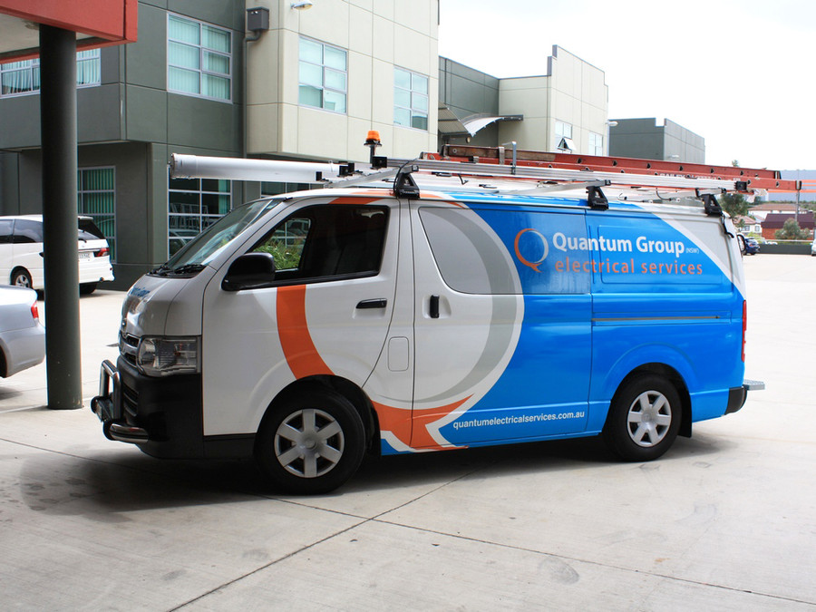 Quantum Electrical Hiace Van Wrap