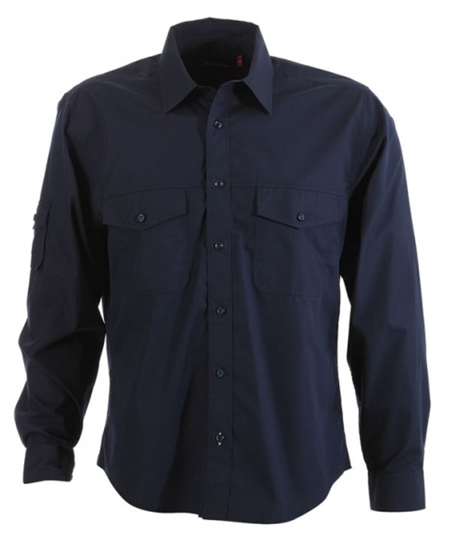 Mens L/S Harley Business Shirt  (Ink)