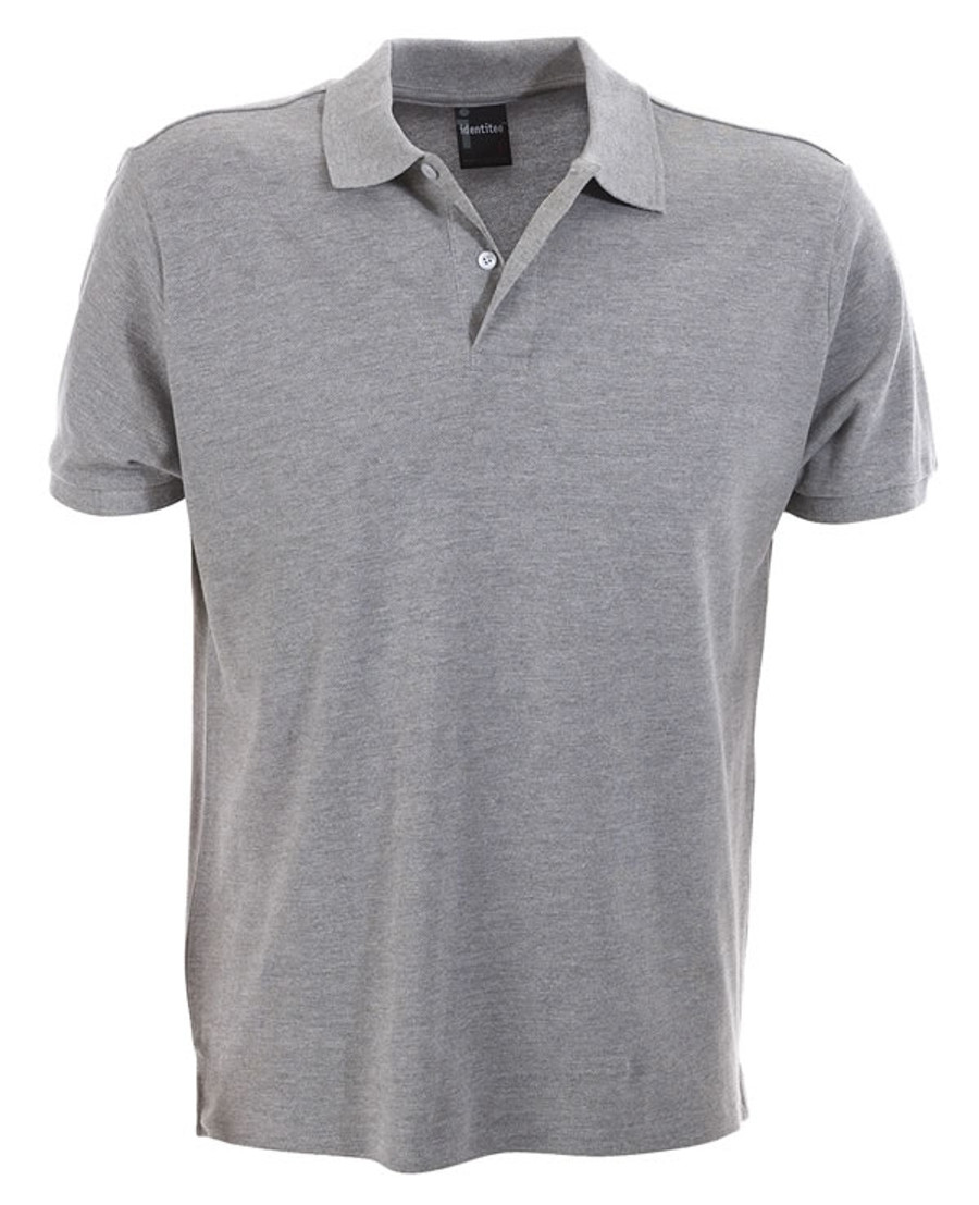 Mens Venice Polo Shirt (Grey Marle)