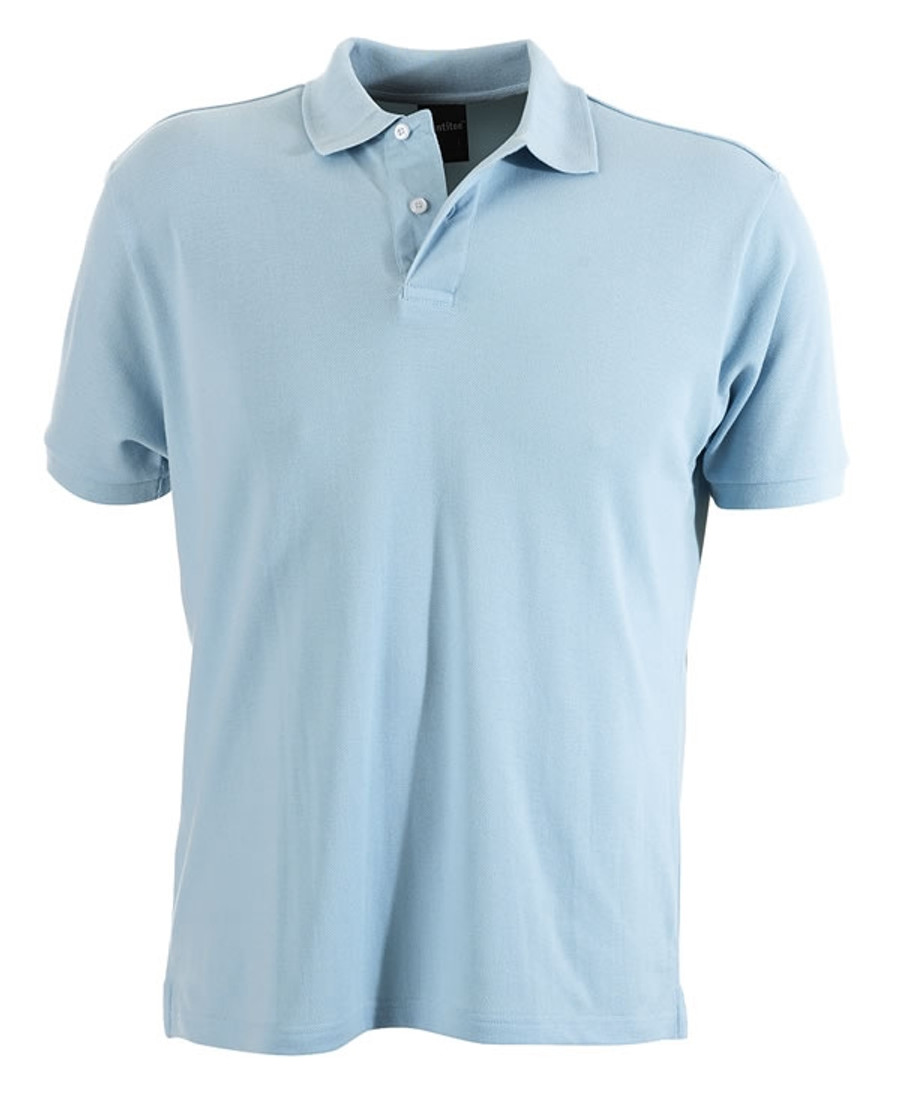 Mens Venice Polo Shirt (Sky)