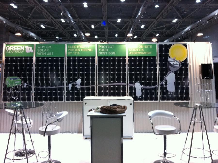 Green Solar Exhibitions Graphics