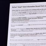 Nufree Nudesse Client Record Pad