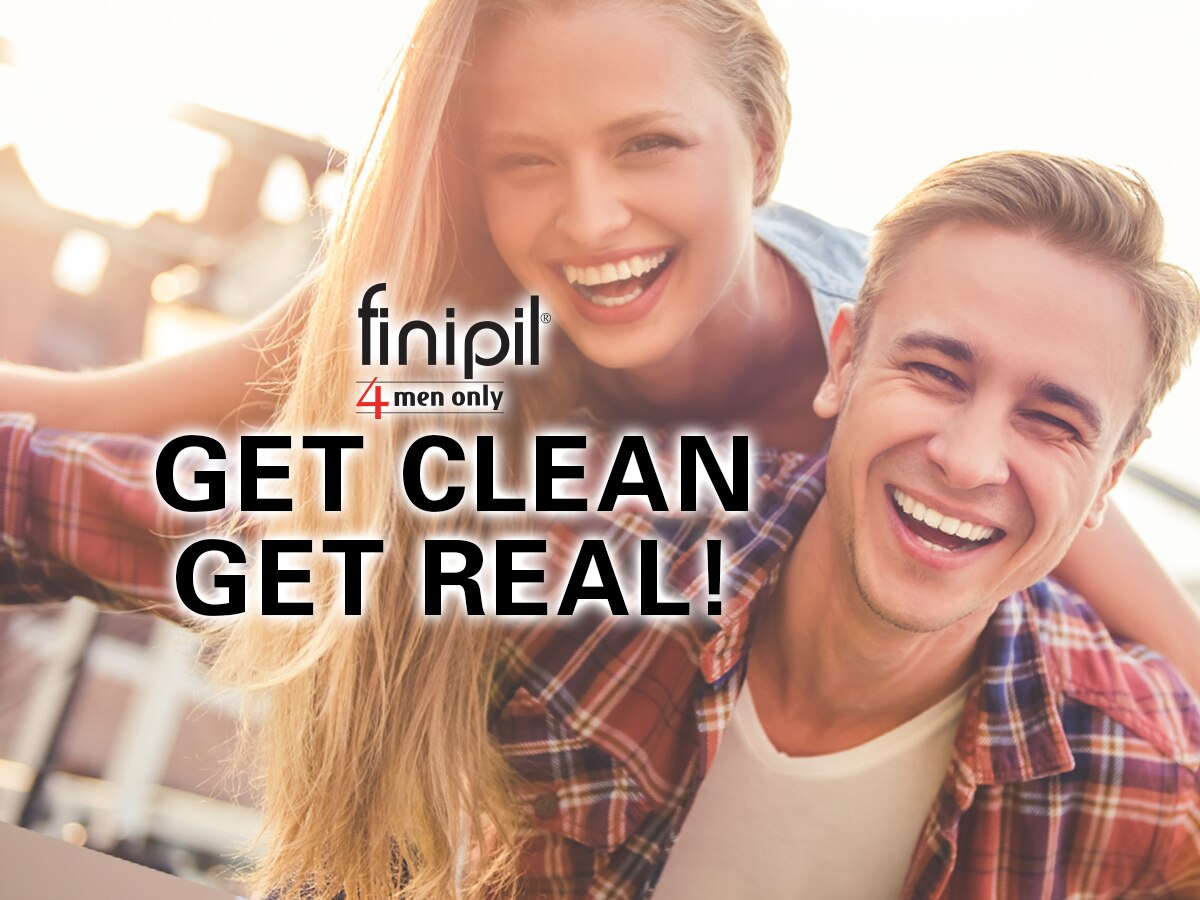 You like the look, your partner hates the stubble… Get Clean, Get Real