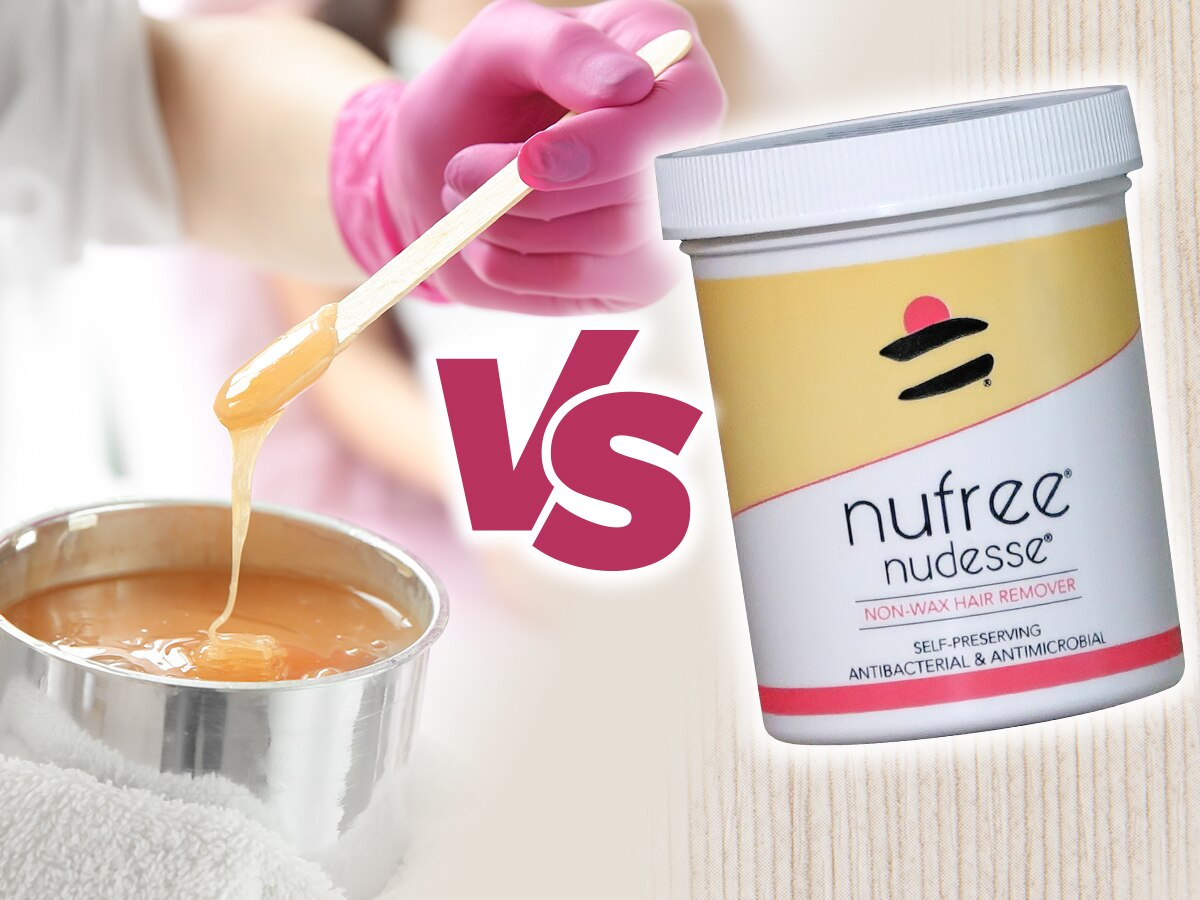 Wax vs. Non-Wax Hair Removal with Nufree®