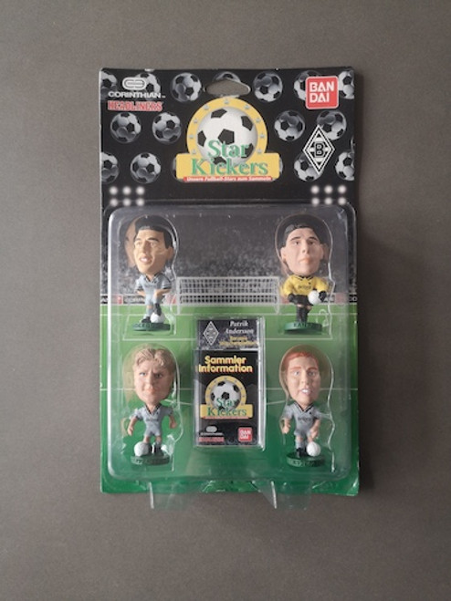Borussia Monchengladback 4 Pack (Effenberg, Pettersson, Andersson, Kamps) Borussia Monchengladbach 0 Blister