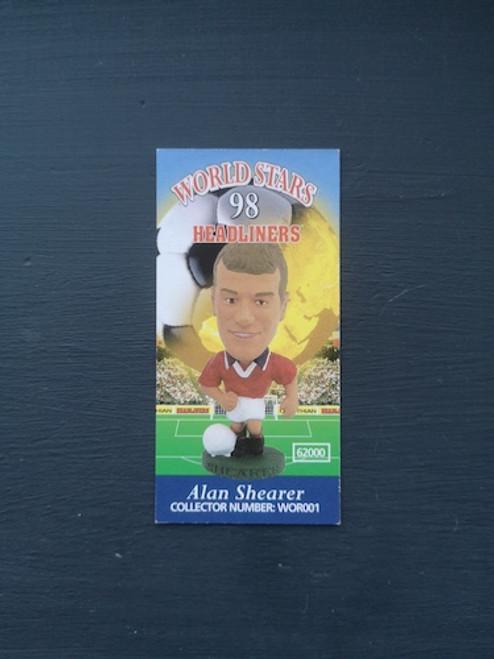 Alan Shearer England WOR001 Card