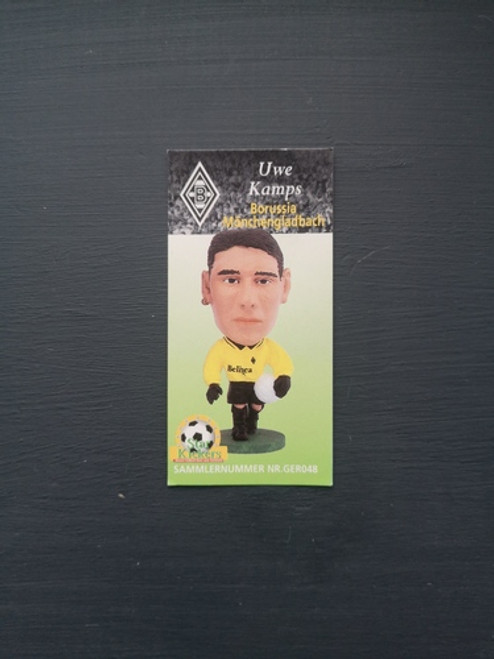 Uwe Kamps Borussia Monchengladbach GER048 Card