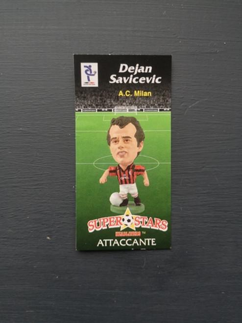 Dejan Savicevic AC Milan SER085 Card