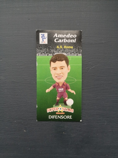 Amedeo Carboni AS Roma SER094 Card