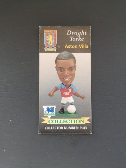 Dwight Yorke Aston Villa PL43 Card