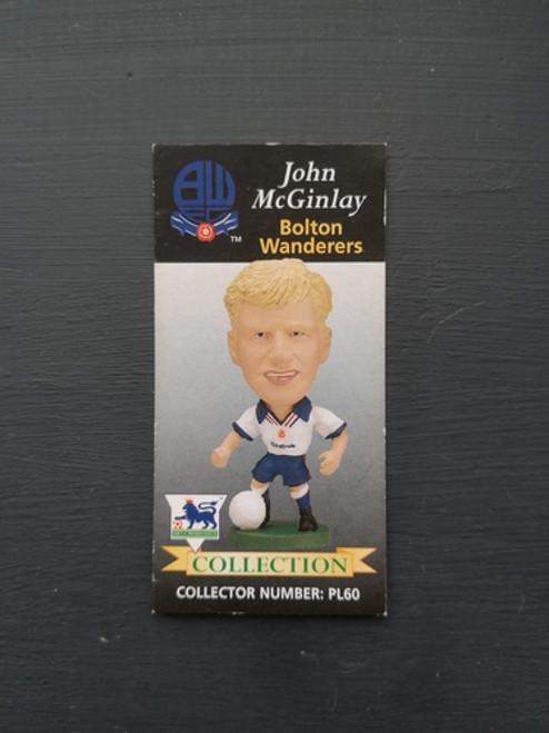 John McGinley Bolton Wanderers PL60 Card