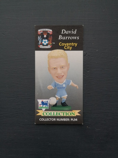 David Burrows Coventry City PL94 Card