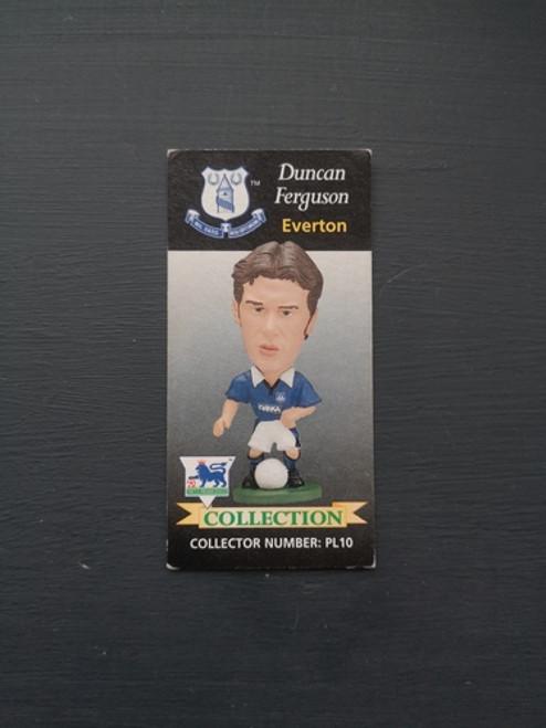 Duncan Ferguson Everton PL10 Card