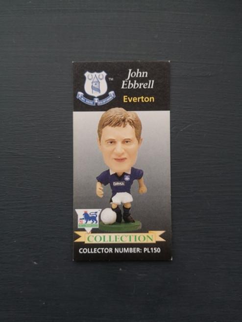 John Ebbrell Everton PL150 Card