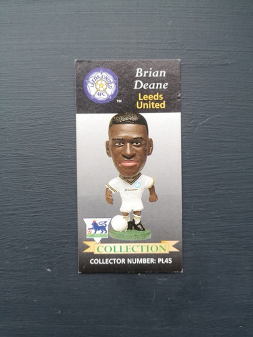 Brian Deane Leeds United PL45 B Card