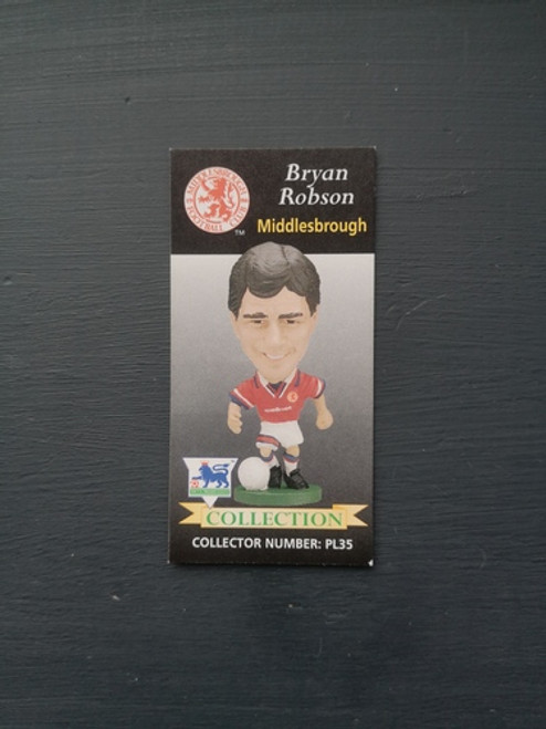 Bryan Robson Middlesbrough PL35 Card