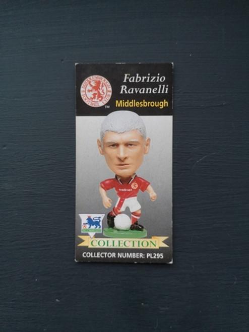 Fabrizio Ravanelli Middlesbrough PL295 B Card