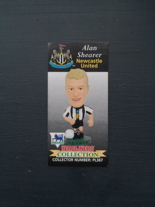 Alan Shearer Newcastle United PL367 B Card