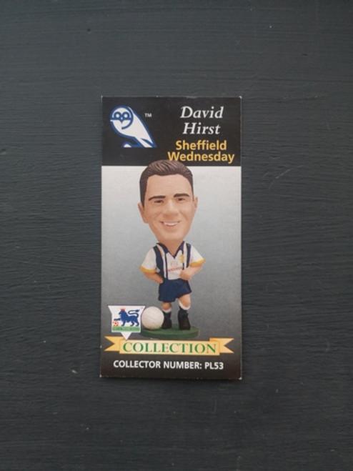 David Hirst Sheffield Wednesday PL53 Card