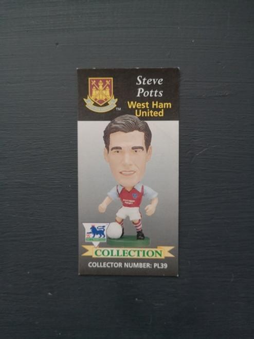 Steve Potts West Ham United PL39 Card