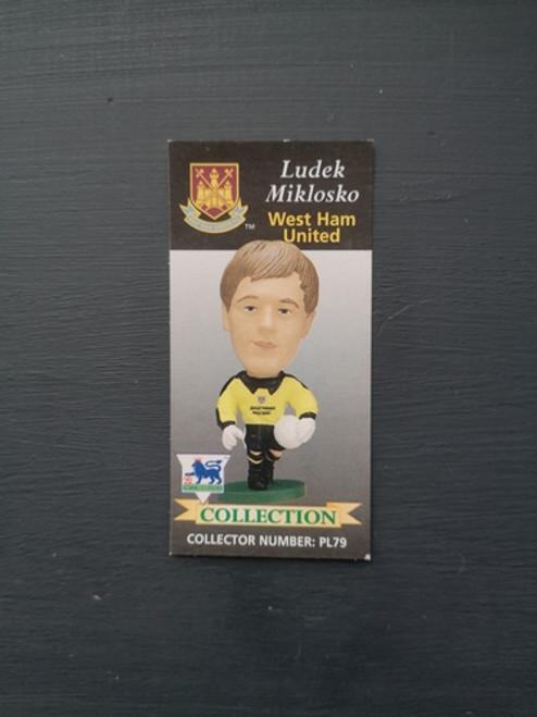 Ludek Miklosko West Ham United PL79 Card