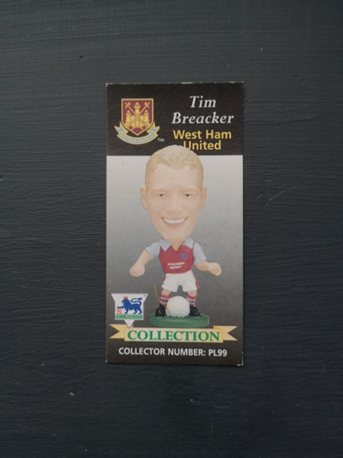 Tim Breaker West Ham United PL99 Card