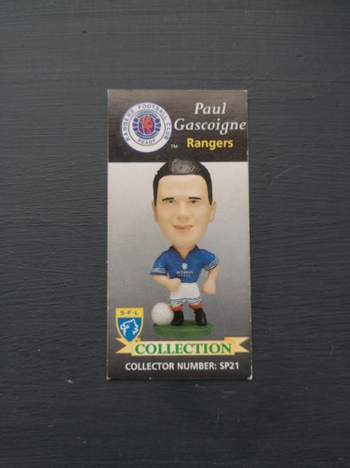 Paul Gascoigne Glasgow Rangers SP21 Card