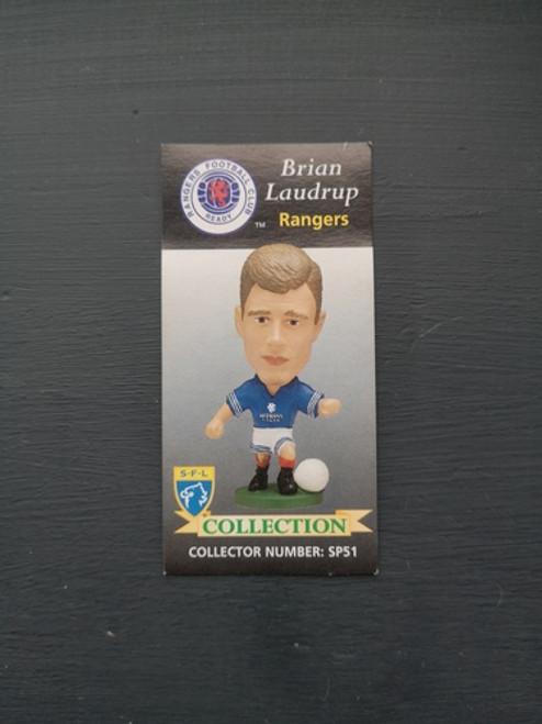 Brian Laudrup Glasgow Rangers SP51 Card