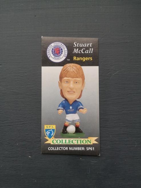 Stuart McCall Glasgow Rangers SP61 Card