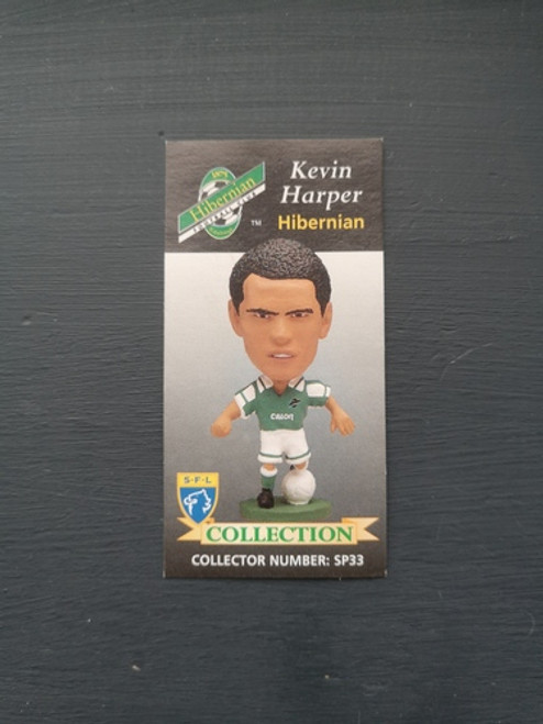 Kevin Harper Hibernian SP33 Card