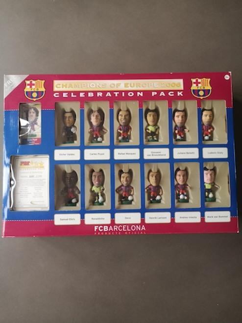 Barcelona Champions League Winners 05/06 12 Player Pack Barcelona P02380 Blister