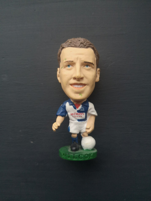 Jason Wilcox Blackburn Rovers PL184 Loose
