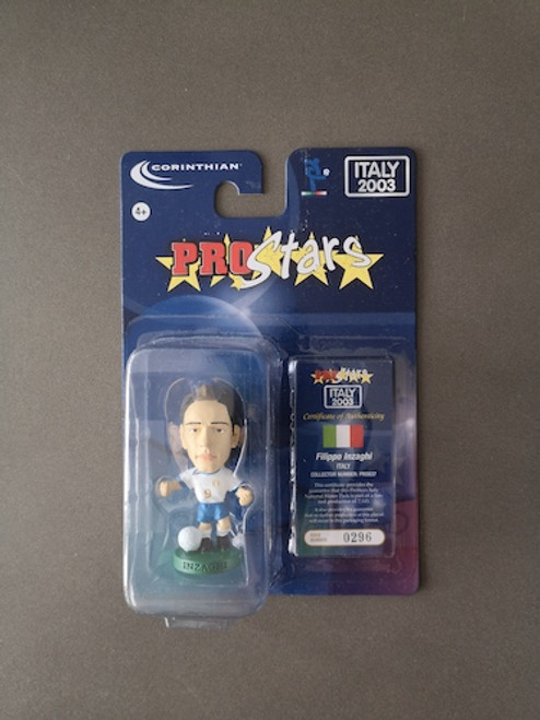 Filippo Inzaghi Italy PRO837 Blister