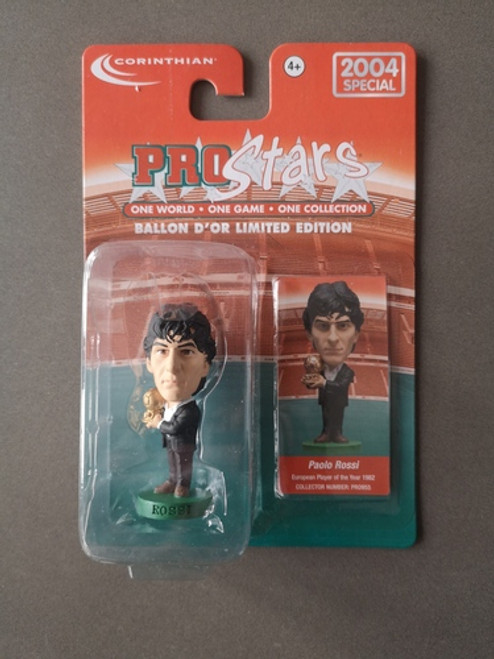 Paolo Rossi Juventus PRO955 Blister
