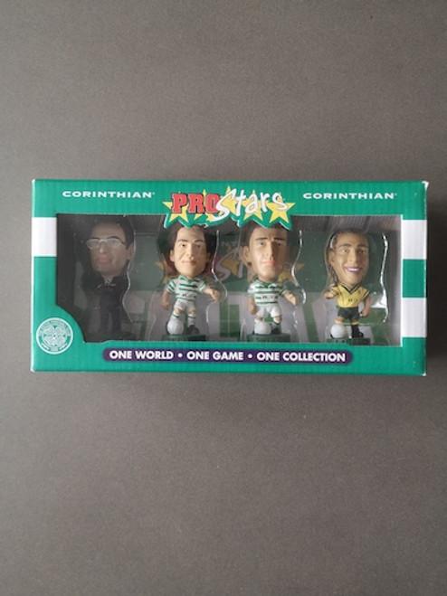 Celtic 4 Pack (O'Neill, Berkovic, Larsson, Sutton) Glasgow Celtic 53603 Blister