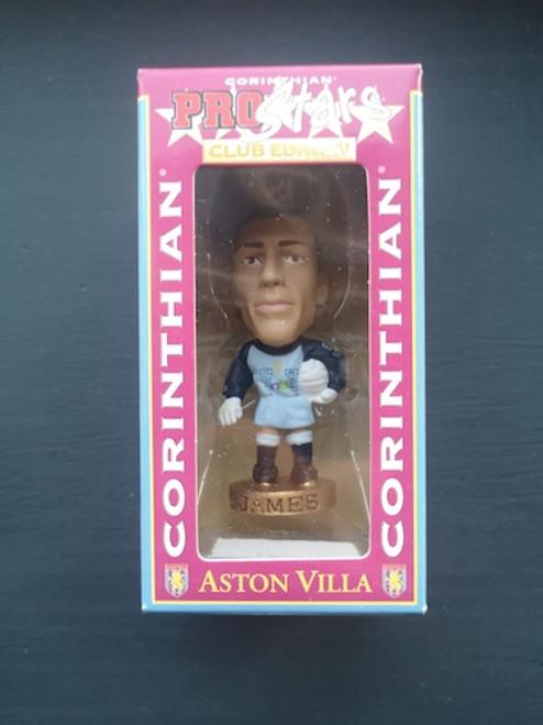 David James Aston Villa CG139 Blister