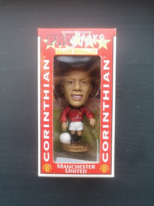 Wes Brown Manchester United CG180 Blister