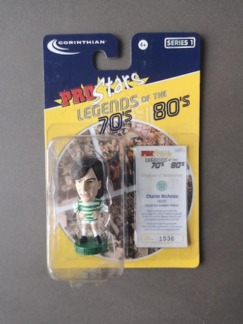 Charlie Nicolas Glasgow Celtic PRO844 Blister