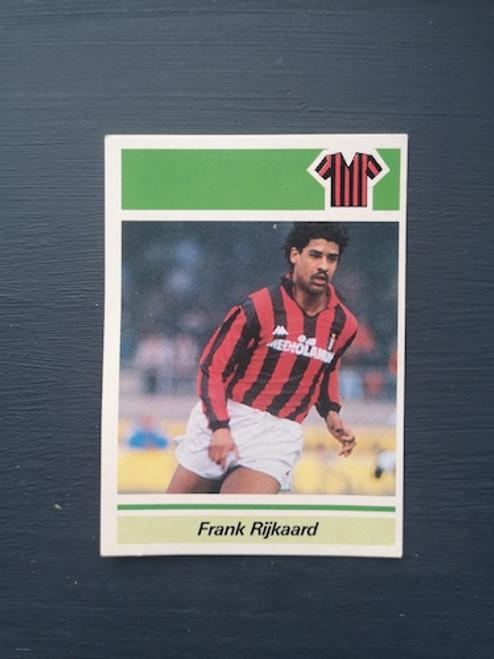 Frank Rijkaard AC Milan TONKA003 Card