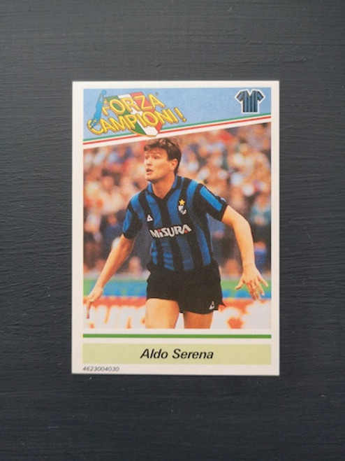 Aldo Serena Inter Milan TONKA011 Card