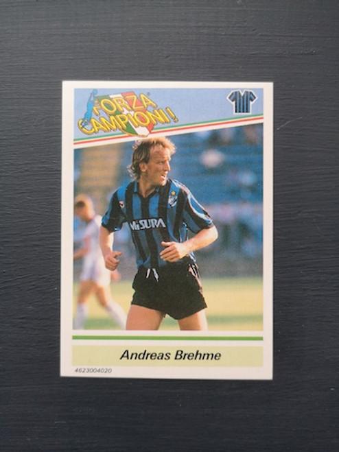 Andreas Brehme Inter Milan TONKA012 Card