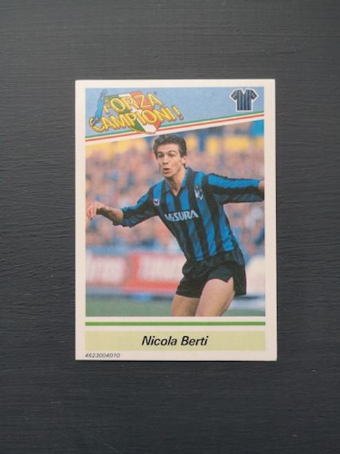 Nicola Berti Inter Milan TONKA014 Card