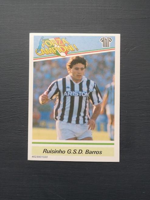 Ruisinho Barros A Juventus TONKA020 Card