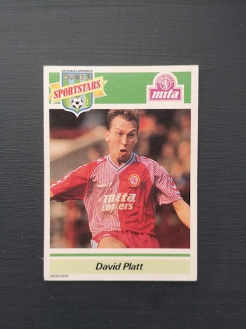 David Platt Aston Villa TONKA039 Card